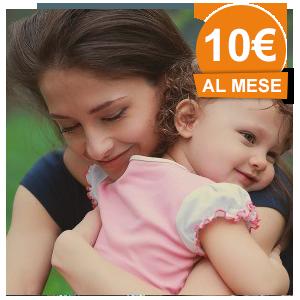 10 € /mese - SOSTEGNO ITALIA - FAME DI MAMMA