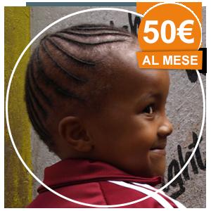 50 €/mese - ADOZIONE A DISTANZA BAMBINO