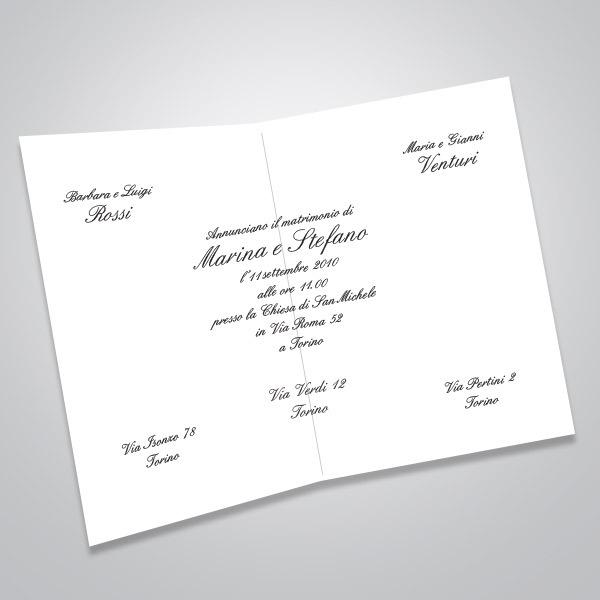 Sito Partecipazioni Matrimonio.Partecipazioni Matrimonio Sposini Bomboniere Solidali Ai Bi