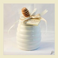 Vasetto in ceramica bianca