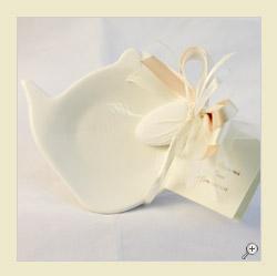 Piattino porta bustine da tè