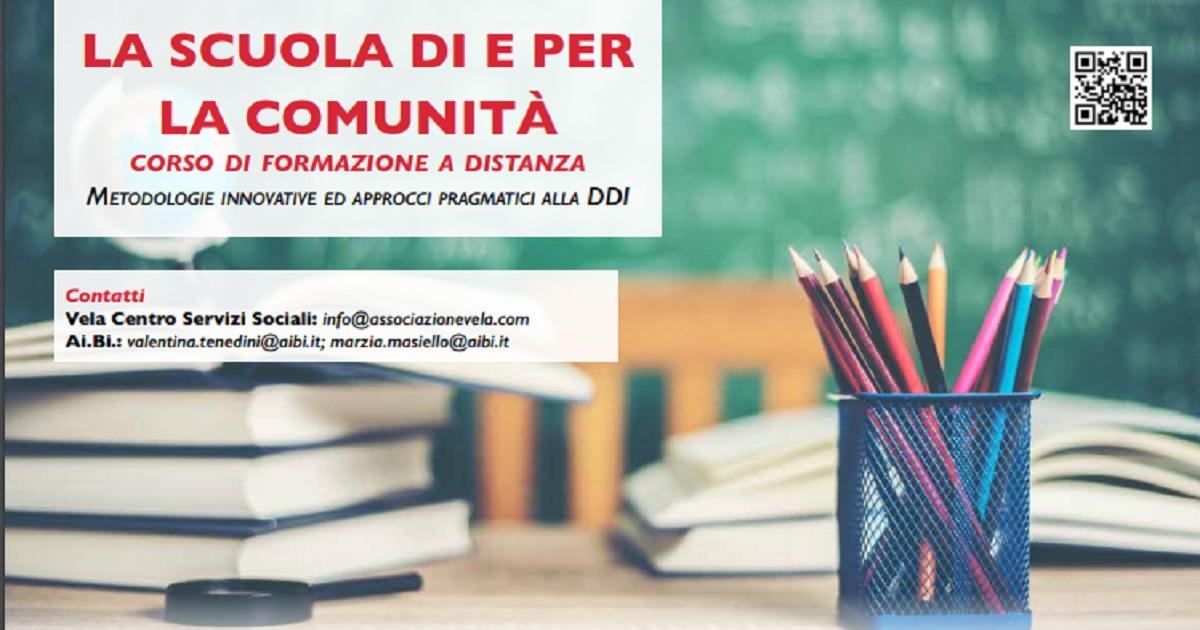 """CEFAM. """"La scuola di e per la comunità"""": corso di formazione su metodologie innovative alla Didattica Digitale Integrata"""
