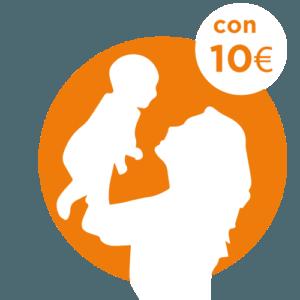 10 € - SOSTEGNO ITALIA - FAME DI MAMMA