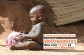 Anche in Africa #Continuiamodaibambini. E vogliamo garantire loro la speranza di un futuro. Grazie al tuo 5xmille