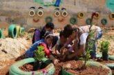 Siria. Attività estiva nelle aree giochi delle scuole di Idlib