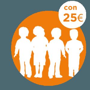 25 € - SOSTEGNO A DISTANZA COMUNITÀ