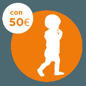 50 € - ADOZIONE A DISTANZA BAMBINO