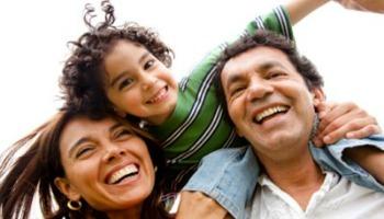 HappyfamilyLaughing_iStock400