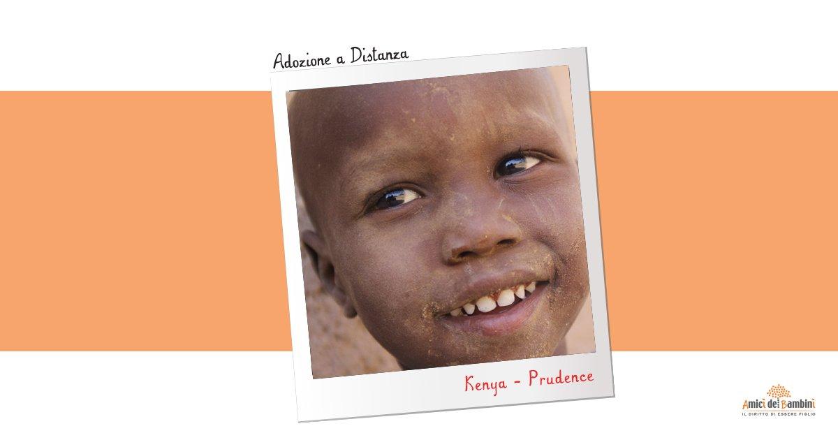 Adozione a Distanza Kenya. Prudence: Non voglio più saltare giorni di scuola!