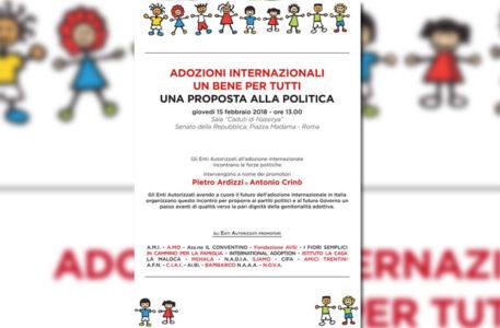 conferenza di Roma su adozione internazionale, gli enti autorizzati parlano alla politica