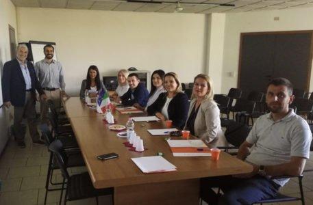 kosovo. La visita della delegazione in Italia