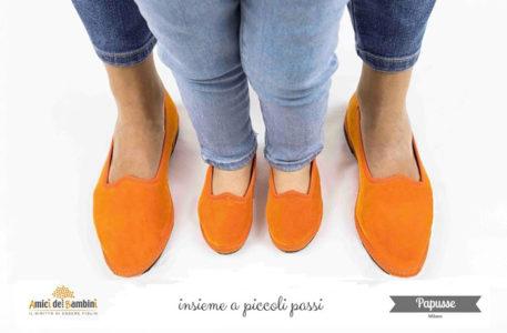 """Il fashion milanese non dimentica la responsabilità sociale  si chiama  """"insieme a piccoli passi"""" la nuova partnership tra Papusse Milano b2b3dc17ba3"""