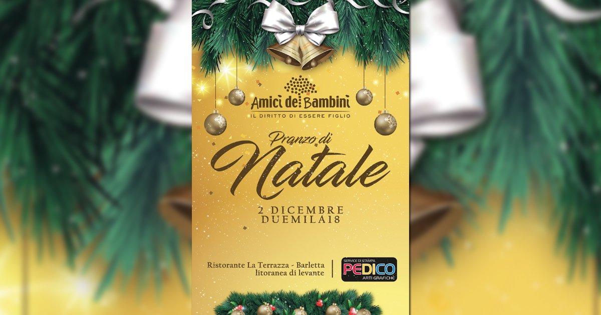 Barletta. Il tradizionale pranzo di Natale della sede pugliese di Ai.Bi. torna a promuovere l'accoglienza
