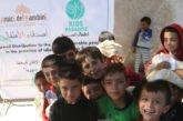 Siria. Una famiglia con cinque bambini ciechi in fuga dagli attacchi aerei