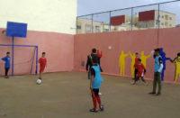 marocco, la vittoria dei bambini del Sidi Bernoussi nella partita di calcio