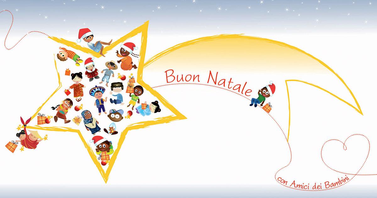 Auguri Di Natale Famiglia.Tanti Auguri Di Buon Natale Ai Bi Amici Dei Bambini