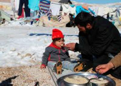 neve in siria