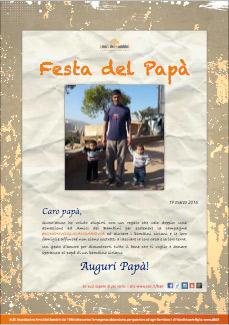 Pergamena Festa del Papà