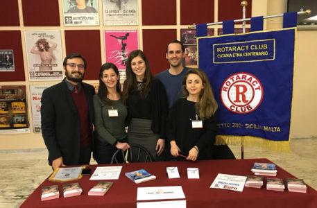 Il Rotaract di Catania al fianco di Ai.Bi. e di Lorella Cuccarini per la Campagna 'Non Toccatemi La Mamma'