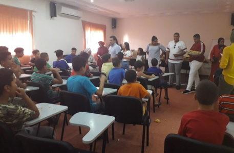 marocco. La visita al giardino esotico di Salè per i bambini del Centro Akkari