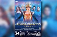 Musical con Lorella Cuccarini con stand Ai.Bi. per Campagna 'Non toccatemi la mamma'