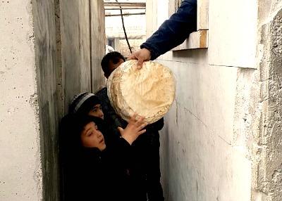 siria bambini forno
