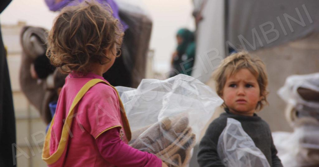 Siria Distibuzione Coperte