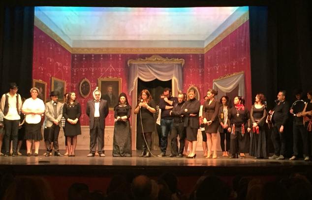 spettacolo teatrale caserta pro siria
