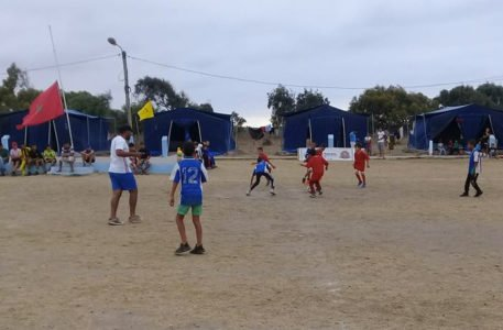 Marocco. Il torneo di calcio degli ospiti del centro Sidi Bernoussi