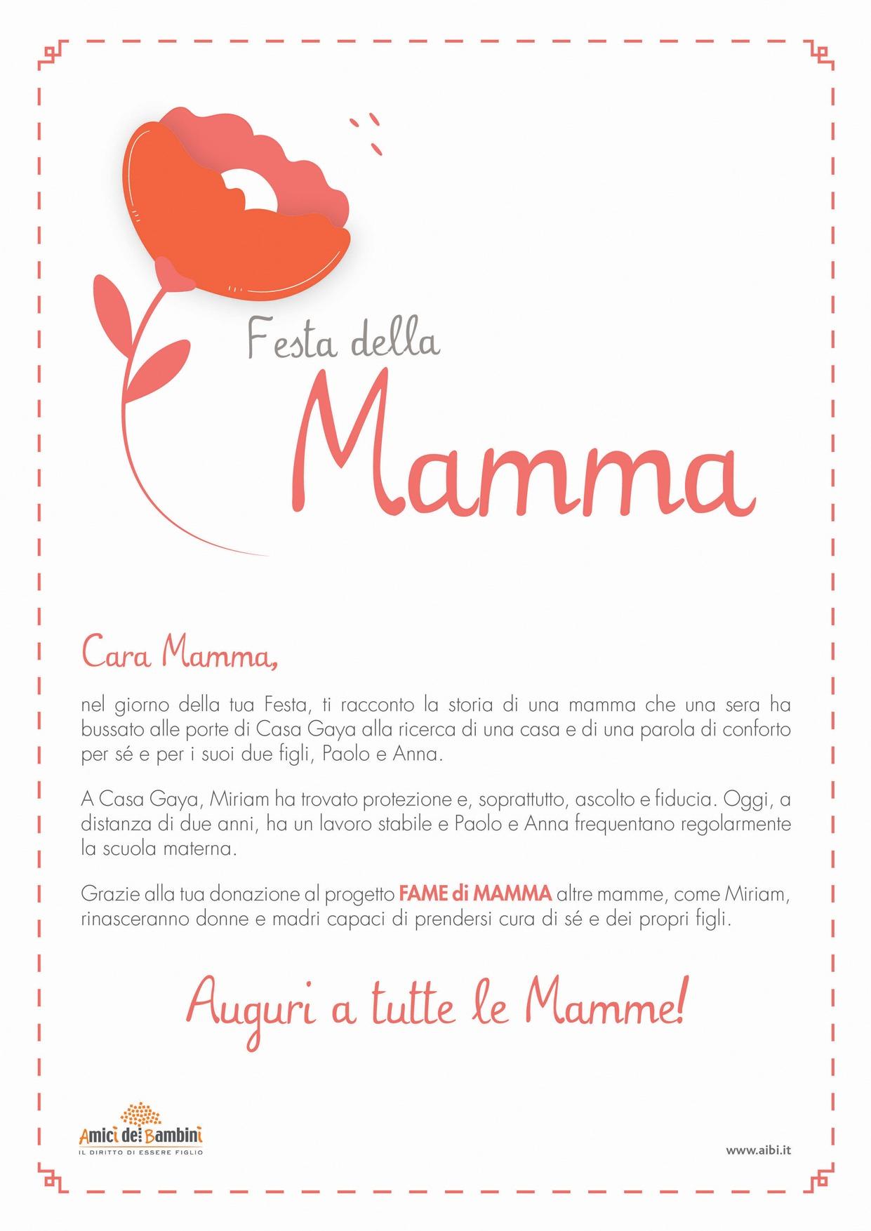 Pergamena Festa della Mamma