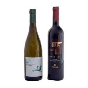 FEDERICI Confezione 2 bottiglie di vino Federici